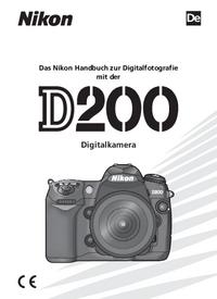 Manuel de l'utilisateur Nikon D200