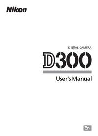 Bedienungsanleitung Nikon D300