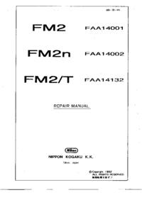 Manual de servicio Nikon FM2n