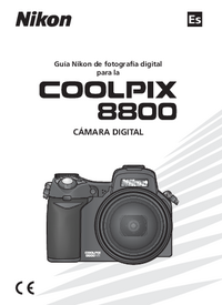 Manual del usuario Nikon Coolpix 8800