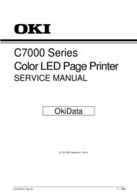 Servicehandboek Okidata C7000