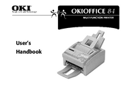 Manual del usuario Okidata Okioffice 84
