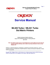 Okidata-2905-Manual-Page-1-Picture