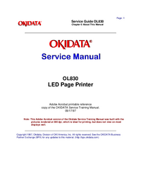 Okidata-2908-Manual-Page-1-Picture