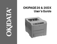 User Manual Okidata OKIPAGE 20