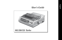 User Manual Okidata ML321 Turbo