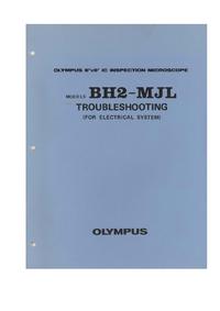 Manual de serviço Olympus BH2-MJL