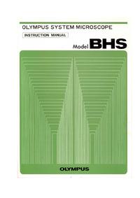 Instrukcja obsługi Olympus BHS