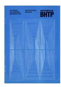 Bedienungsanleitung Olympus BHTP