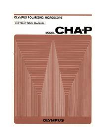 Instrukcja obsługi Olympus CHA-P