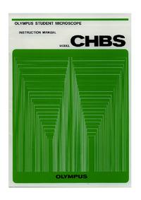 Руководство пользователя Olympus CHBS