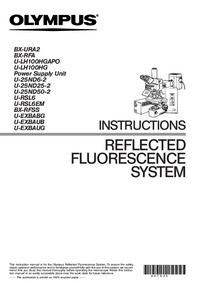 Manual do Usuário Olympus BX-RFA