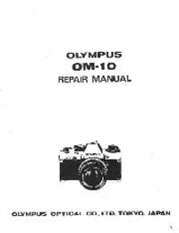 Manual de serviço Olympus OM-10