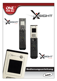 User Manual Oneforall Xsight Lite