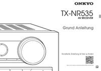 Manual del usuario Onkyo TX-NR535