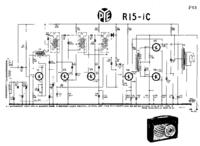Service Manual PYE R15-1C