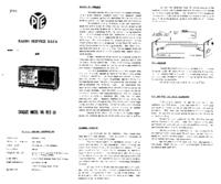 Service Manual PYE R25-1A