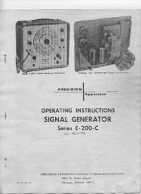 Instrukcja obsługi, Cirquit diagramu Paco E-200-C
