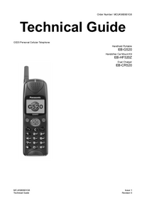 Service Manual Panasonic G520