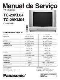 Manual de servicio Panasonic TC-29KL04