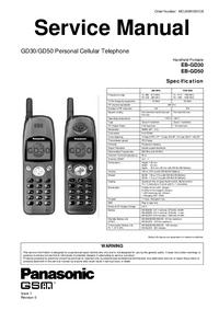 Instrukcja serwisowa Panasonic GD50
