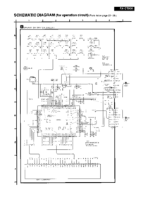 Cirquit Diagram Panasonic RX-CT900