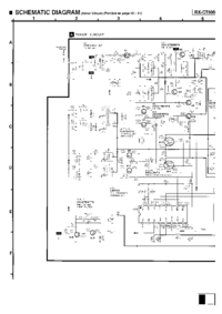 Cirquit Diagrama Panasonic RX-CT990