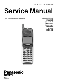 Manual de servicio Panasonic EB-CD400
