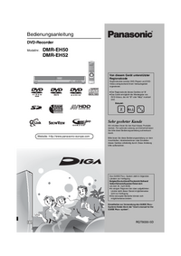 Manual del usuario Panasonic DMR-EH52