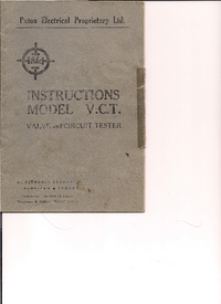 Manual del usuario Paton V.C.T.