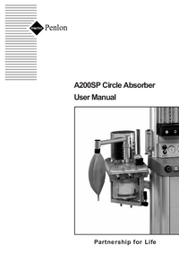 User Manual Penlon A200SP