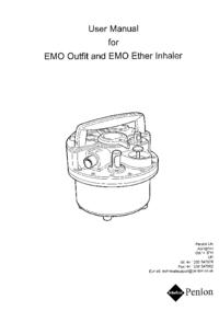 Manual de serviço Penlon EMO Outfit