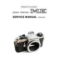Manual de servicio Pentax ME 23900