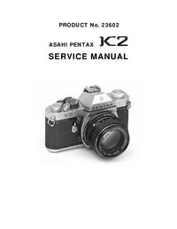 Service Manual Pentax K2 23602