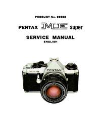 Manual de serviço Pentax ME super 23903