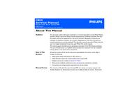 Manual de serviço Philips HD3