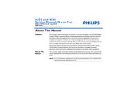 Manuale di servizio Philips iU22