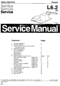 Manual de servicio Philips L6.2 AA