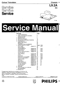 Service Manual Philips L9.2A AA