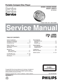 Service Manual Philips AX5305