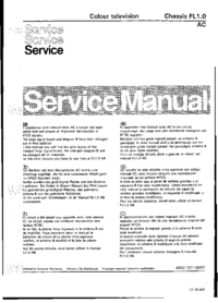Service Manual Philips FL1.0 AC
