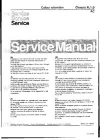 Manual de serviço Philips FL1.0 AC