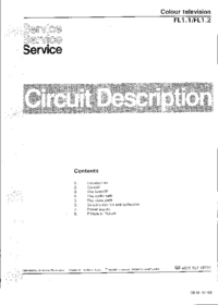 Service Manual Philips FL1.2