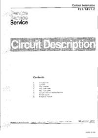 Serviceanleitung Philips FL1.2