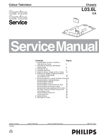 Manual de servicio Philips L03.6L CA