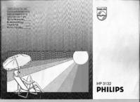 Instrukcja obsługi Philips HP 3132