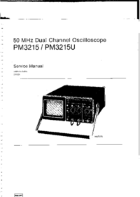 Service Manual Philips PM3215