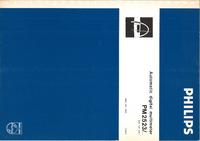 Обслуживание и Руководство пользователя Philips PM 2523