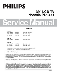 Service Manual Philips PL13.11