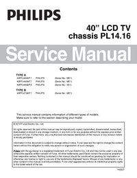 Service Manual Philips 40PFL4909/F8